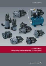 Grundfos Basic – veliki izbor kvalitetnih pumpi za kuću i bašte - TDM