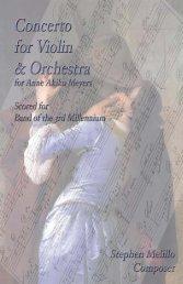 Concerto for Violin & Orchestra - STORMWORLD