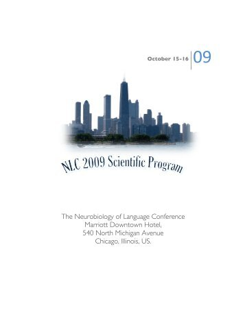 2009 Conference Program - Society for the Neurobiology of Language