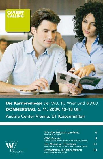 Die karrieremesse der WU, TU Wien und BOKU ... - Career Calling