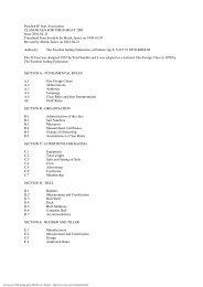 Class Rules 2001 - English Version (PDF)