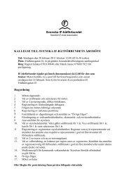 Kallelse (PDF) - Svenska IF-båtförbundet