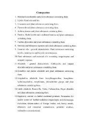 5. Pharmacognosy