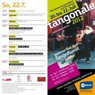 Einladung Tangonale - Westwind e.V.