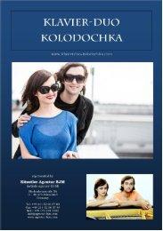 Page 1 Page 2 Page 3 Alexander und Ekaterina Kolodochka ...