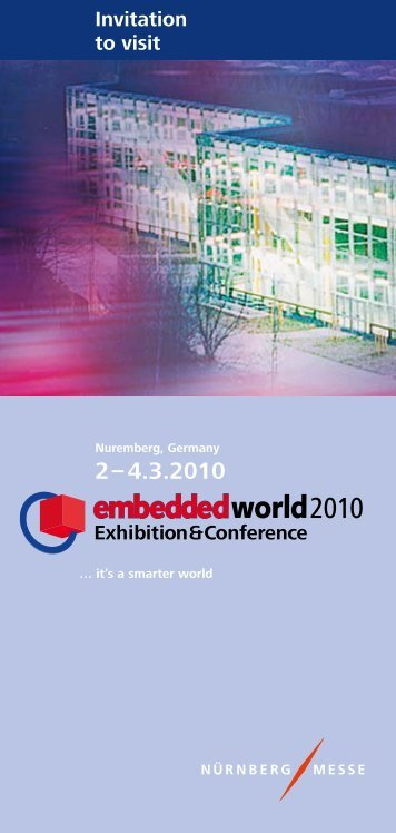 Invitation to visit - embedded world
