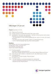 program miljödagen1.pdf - Sveriges ingenjörer