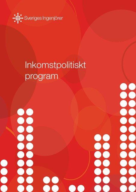Inkomstpolitiskt program - Sveriges ingenjörer