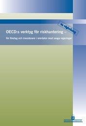 OECDs verktyg för rikshantering/företag och investerare