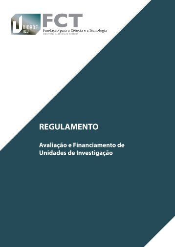 REGULAMENTO - FCT