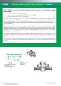 PeMFLeX® SeLF-LOCKING, SeLF-CLINCHING FASTeNeRS ... - Page 2