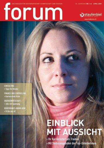 EINBLICK MIT AUSSICHT - Hobsons.ch