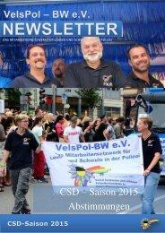 CSD – Saison 2015 Abstimmungen