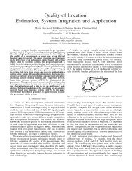 Quality of Location: Estimation, System Integration ... - ResearchGate