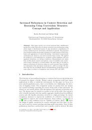 Increased Robustness in Context Detection and ... - ResearchGate