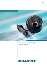 SNAPLOC® Vibration and noise-decoupling fastening ... - Böllhoff