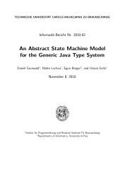 An Abstract State Machine Model for the Generic Java Type System