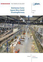 Distribution Center Ingram Micro GmbH Straubing/Germany - viastore