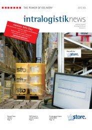 (EN): intralogistik NEWS 1 / 2010 ... - Viastore Systems