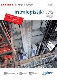 (EN): intralogistik NEWS 2 / 2010 ... - viastore