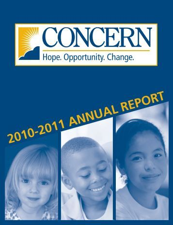2010-2011 ANNUAL REPORT - Concern