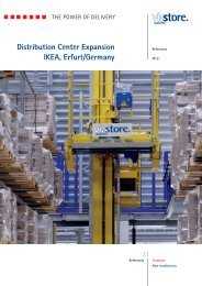 Distribution Center Expansion IKEA, Erfurt/Germany - viastore