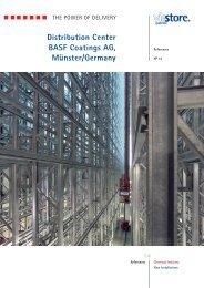 Distribution Center BASF Coatings AG, Münster/Germany - viastore
