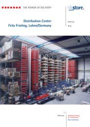 Distribution Center Fritz Frieling, Lohne/Germany - viastore