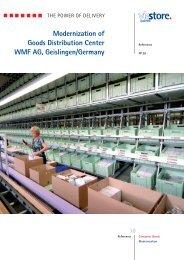 Modernization of Goods Distribution Center WMF AG ... - viastore
