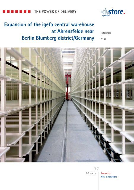 Expansion of the igefa central warehouse at Ahrensfelde ... - viastore