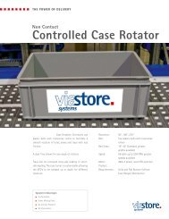 Controlled Case Rotator - Viastore Systems