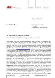 Rundbrief 175 - Stiftung für Abendländische Ethik und Kultur