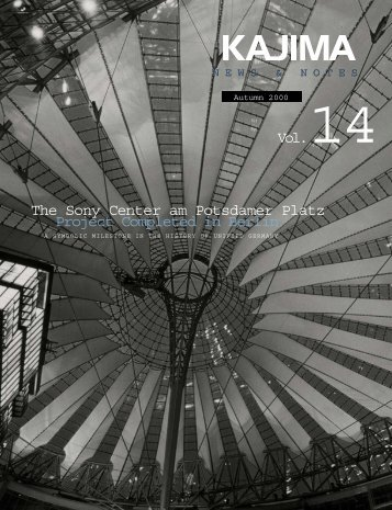 Vol.14 The Sony Center am Potsdamer Platz Project Completed in ...