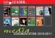 DOKUMENTATION 2010 2011 - Golfleader
