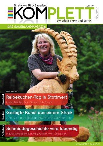 Komplett - Das Sauerlandmagazin Oktober 2014