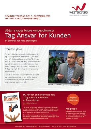 Download Tag Ansvar for Kunden - WESTERGAARD