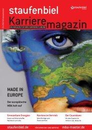 vertrieb - Staufenbiel Karrieremagazin
