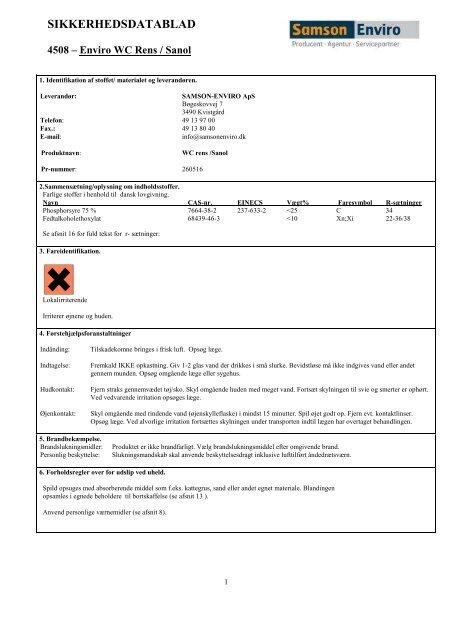 4508 - Enviro WC renssanol - Hosting by Talk Active