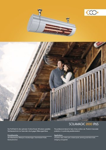 SOLAMAGIC 2000 IP65 - Markisen-kauf.de