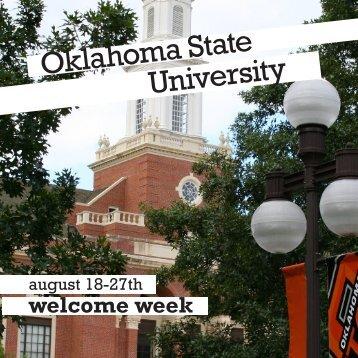 welcome week - Oklahoma State University