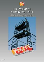 PR rullestillads brochure og montageanvisning - PASCHAL ...