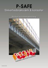 P-Safe brochure og montageanvisning - PASCHAL-Danmark A/S