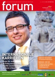 InternatIonale KarrIeren - Hobsons.ch