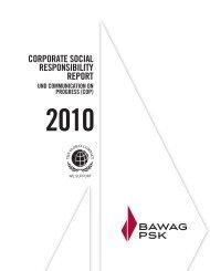 CSR Report - BAWAG PSK