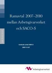 Ramavtal 2007–2010 mellan Arbetsgivarverket och SACO-S