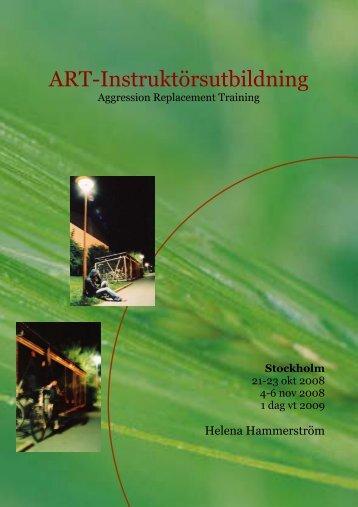 ART-Instruktörsutbildning - Allt om ART