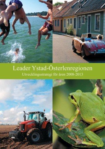 Leader Ystad-Österlenregionens utvecklingsstrategi - Leader i Skåne