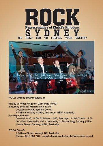 Kasih Karunia - ROCK Sydney Indonesian Church