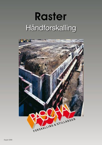RASTER brochure - PASCHAL-Danmark A/S