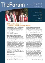 Issue 8 - Lutheran Church in Great Britain